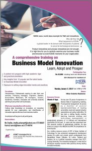 Business Model Innovation training